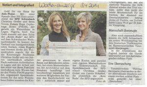 SPD spendet Weihnachtsmarkteinnahmen 2013